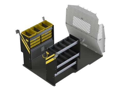 Electrical Van Shelving Package, RAM ProMaster City