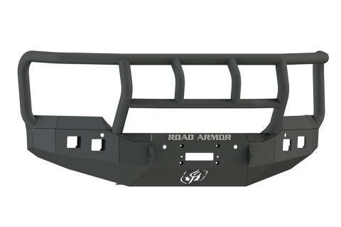 Front Stealth Winch Bumper, Titan II Guard, Satin Black