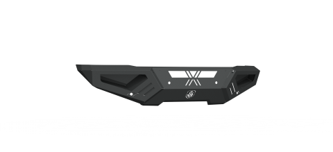 15-19 CHEVY SPARTAN FRONT NON-WINCH BUMPER SATIN BLACK