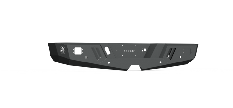 15-19 CHEVY SPARTAN REAR NON-WINCH BUMPER SATIN BLACK