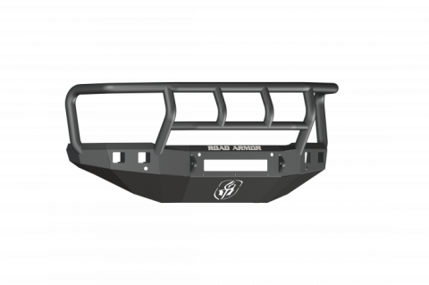 15-19 GM 25/3500 Stealth Front Non-Winch Bumper Titan II Guard - Texture Black