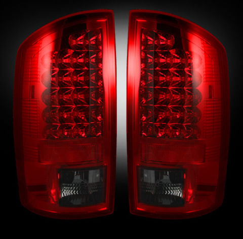 LED Tail Lights Dark Red / Smoked