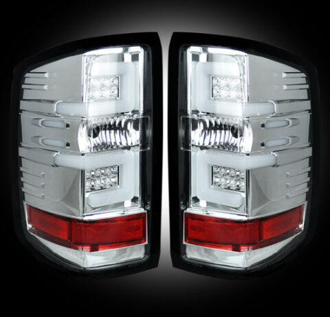 LED Tail Lights - Clear