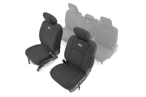 Ram Neoprene Front Seat Covers (09-18 1500 / 10-18 2500/3500)