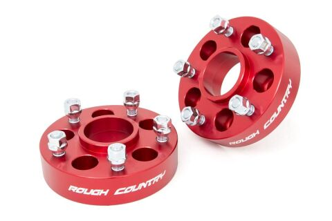 5x4.5 to 5x5 Adapters (Pair | Red)