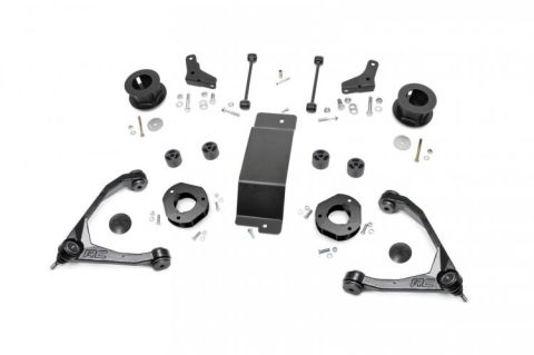 3.5in GM Suspension Lift Kit (07-16 1500 2WD/4WD SUV - Stock Cast Steel)