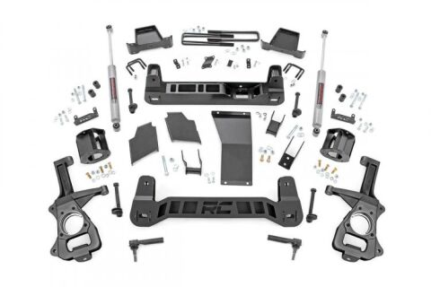 6in Suspension Lift Kit | Strut Spacers (2019 Chevy 1500 PU 4WD/2WD)