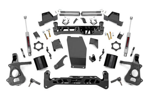 7IN GM SUSPENSION LIFT | KNUCKLE KIT (14-18 1500 PU 4WD) STOCK CAST STEEL