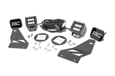 Nissan LED Fog Light Kit | Black Series (05-20 Frontier)
