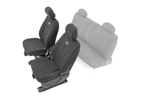 GM Neoprene Front Seat Covers | Black [14-18 1500]