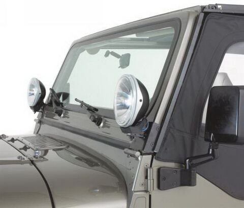 Windshield Hinge Light Bracket