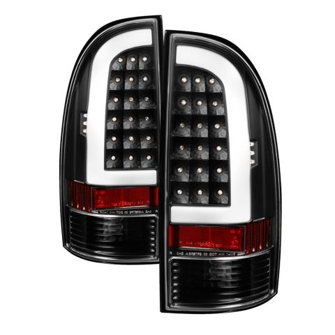 (xTune) Toyota Tacoma 05-15 Light Bar LED Tail Lights Black