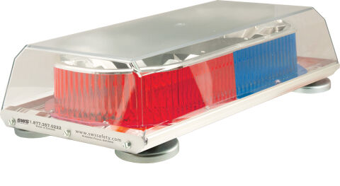 16 INCH RED/BLUE MAG MOUNT LED