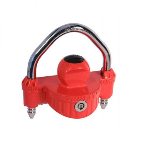UNIVERSAL 'DIE-CAST' PATENTED DUAL LOCKING NARROW BODY COUPLER LOCK, 1/2 SHACKLE