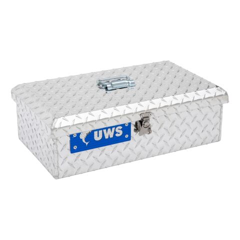 Bright Aluminum Tote Box (Heavy Packaging)
