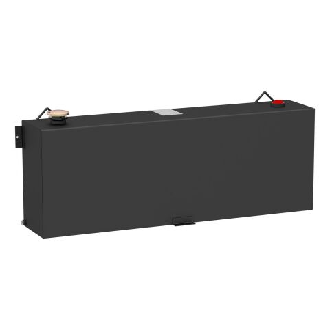 Matte Black 45-Gallon Rectangle Steel Transfer Tank