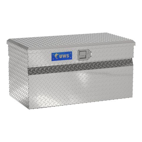 Bright Aluminum 36in. Utility Chest Box (LTL Shipping Only)