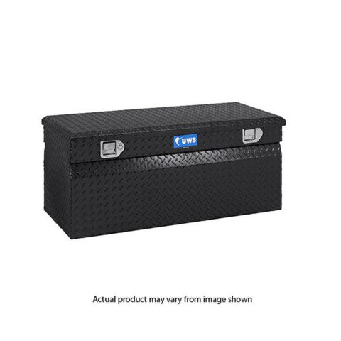 Gloss Black Aluminum 42in. Utility Chest Box (LTL Shipping Only)
