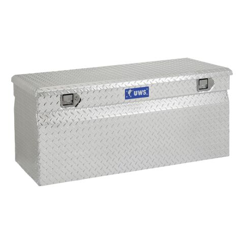 Bright Aluminum 48in. Utility Chest Box (LTL Shipping Only)