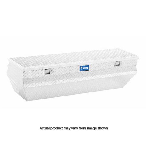 Bright Aluminum 55in. Wedged Angled Utility Chest Box (LTL Shipping Only)