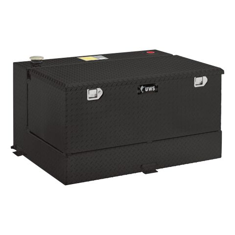 Gloss Black 100-Gallon Combo Aluminum Transfer Tank