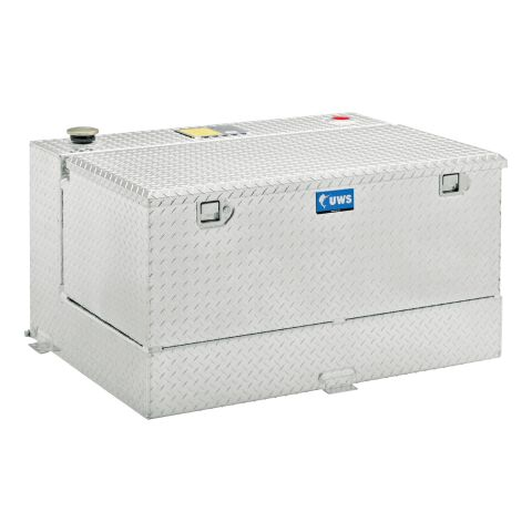 45-Gallon Combo Bright Aluminum Transfer Tank