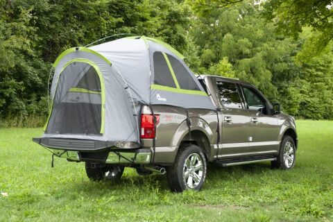 NAPIER BACKROADZ TRUCK TENT: FULL SIZE BED; GREY/GREEN