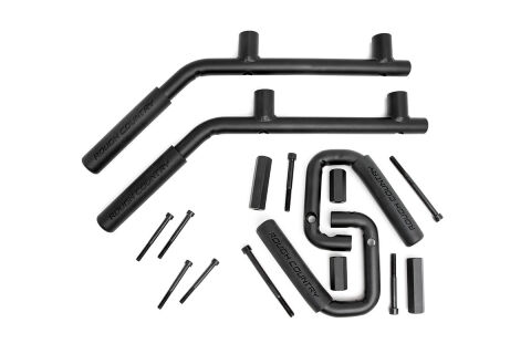 Solid Steel Front & Rear Grab Handles (Set of 4)